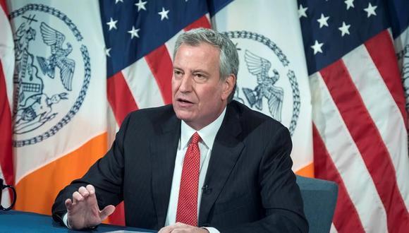 Coronavirus en New York | Ultimas noticias | Último minuto: reporte de infectados y muertos miércoles 1 de julio del 2020 | En la imagen, el alcalde Bill de Blasio. (Foto: EFE/Ed Reed/ Alcaldía de Nueva York ).