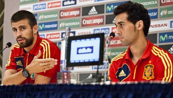 Piqué vs Arbeloa: así se inicio el historial de sus pleitos