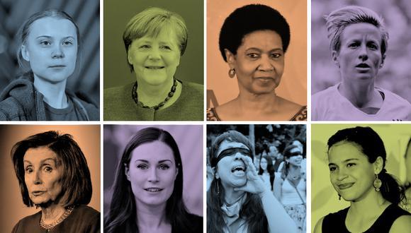Con motivo del Día de la Mujer, repasamos algunas de las miles de mujeres que son ejemplo de empoderamiento en todo el mundo. (El Comercio)