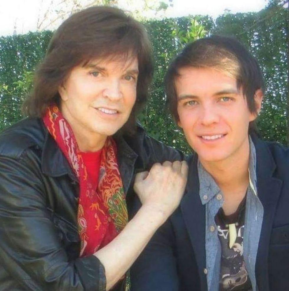 Camilo Sesto y su hijo hace algunos años (Foto: Instagram)