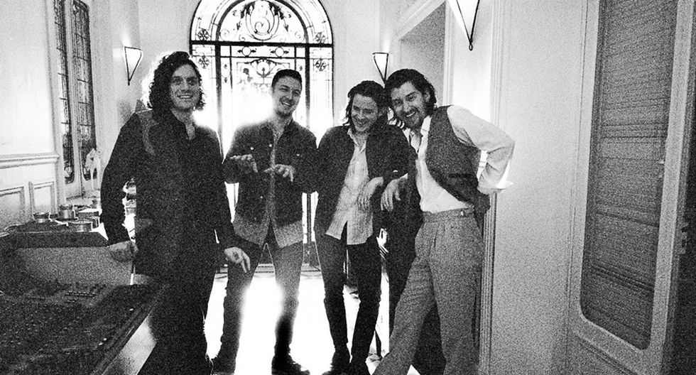 Arctic Monkeys. (Foto: Facebook)