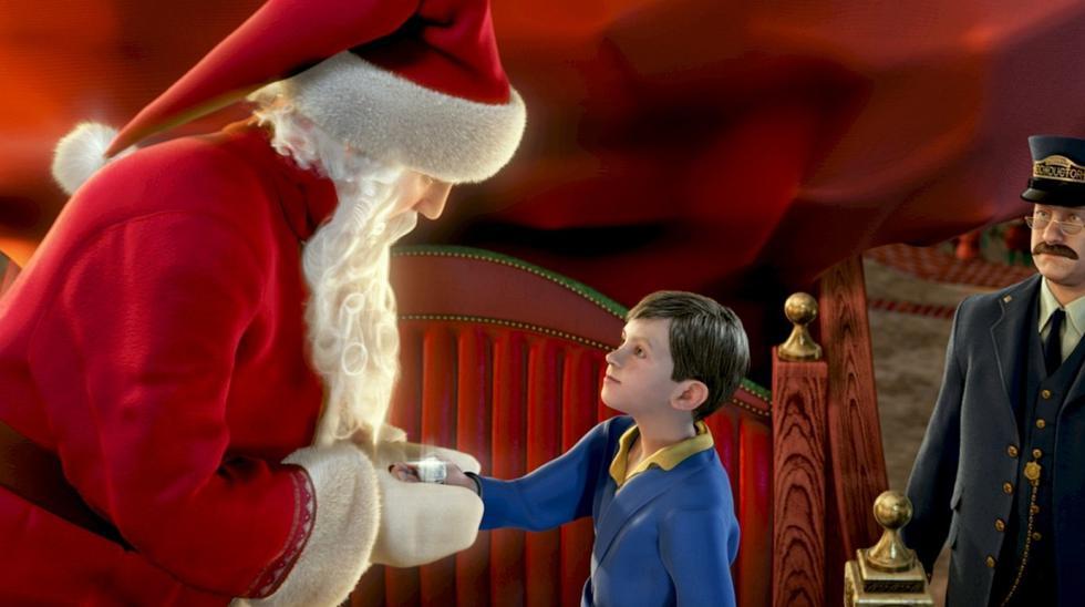 Polar Express relata las aventuras que vive un niño, de 8 años de edad en la noche del 24 de diciembre, en Nochebuena, justo cuando comienza a perder la esperanza de continuar creyendo en la existencia de Santa Claus y el espíritu que conlleva celebrar la Navidad. (Foto: Warner Bros. Pictures)