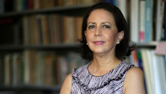 María del Carmen de Reparaz, durante una entrevista concedida a El Comercio en 2017. La especialista en gestión pública es la nueva titular del Ministerio de cultura. Foto: Nancy Chappell para El Comercio.