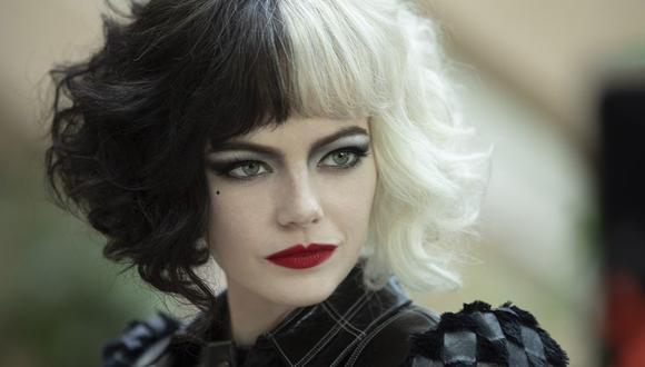 """Emma Stone: """"Tuvieron que ver algo maligno y terrible en mí para ser Cruella"""". (Foto: Disney)"""
