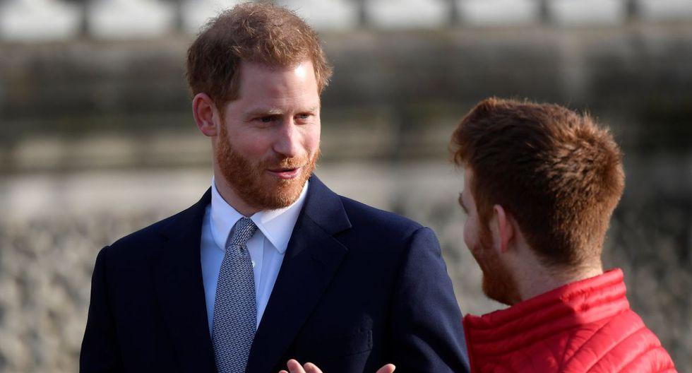 El duque de Sussex, de 35 años, es el anfitrión en el sorteo de la Copa del Mundo de la Liga de Rugby de 2021, celebrado en el palacio real a partir del mediodía. (Foto: Reuters)
