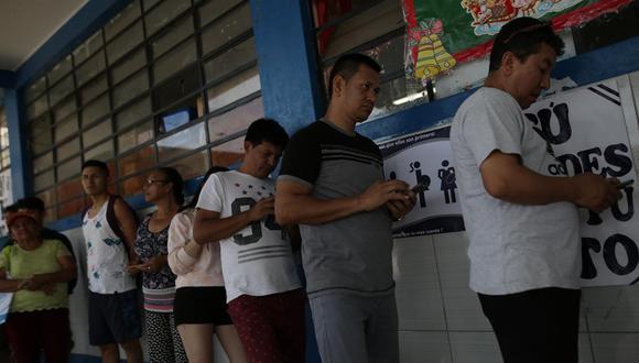 Las elecciones suelen motivar aglomeraciones. Los comicios generales del 2021, ya convocados por el presidente Martín Vizcarra, están enmarcados en la emergencia sanitaria por el coronavirus (Covid-19). (Foto: GEC)