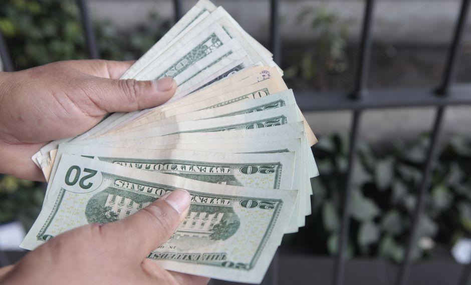 El precio del dólar se elevó hoy un 0.47% . (Foto: GEC)