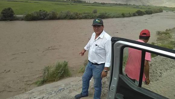 Arequipa: río Majes afectó 16 hectáreas de alfalfa