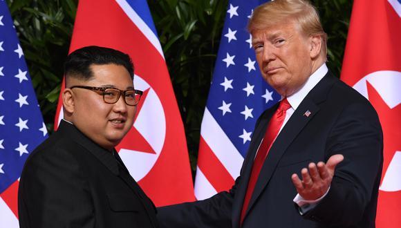 """La cumbre Trump-Kim será """"cerca del final de febrero"""", según la Casa Blanca. Foto de archivo: AFP"""