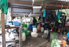 Vraem: hallan laboratorio clandestino y 117 kilos de clorhidrato de cocaína | FOTOS