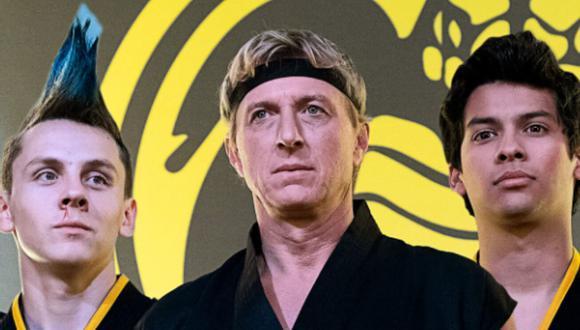 """Ted Sarandos, director ejecutivo de Netflix, fue el responsable de anunciar que la temporada 4 de """"Cobra Kai"""" se estrenará este año. (Foto: Netflix)"""