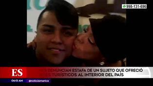 Jóvenes denuncian por estafa a un sujeto que ofreció paquetes turísticos al interior del país