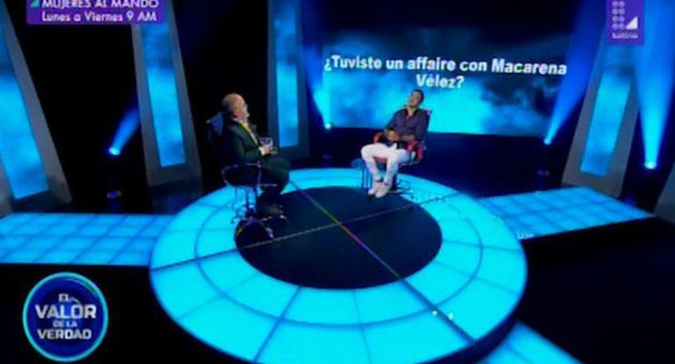 """""""El valor de la verdad"""": Diego Chávarri reveló que tuvo un affaire con integrante de """"Esto es guerra"""". (Foto: Captura de video)"""