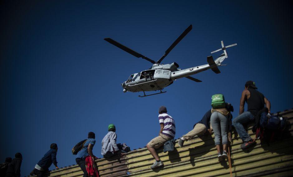 Los flujos de migrantes suelen descender en el verano por las condiciones áridas, pero EE.UU. atribuye las cifras a los esfuerzos de El Salvador, Guatemala y Honduras y a las operaciones junto a México. (AFP)