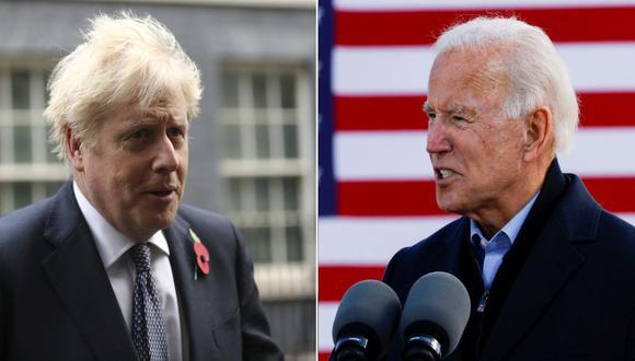 """""""Acabo de hablar con @JoeBiden para felicitarlo por su elección"""", tuiteó Boris Johnson. (Foto: Reuters)"""