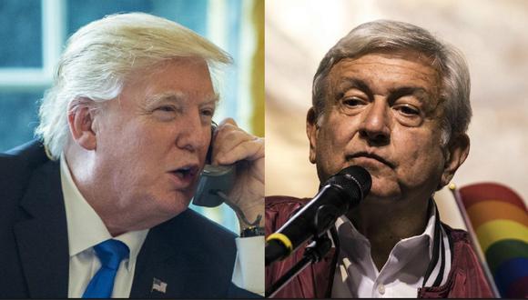 Donald Trump llama por teléfono a AMLO y hablan durante media hora. (Blommberg / AFP).