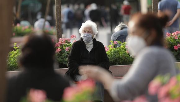 Los adultos mayores de 65 años han formado parte de la población más afectada por el coronavirus. (Foto: Anthony Niño de Guzmán)