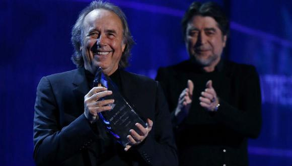 Grammy Latino 2014: Joan Manuel Serrat es homeneajeado de nuevo