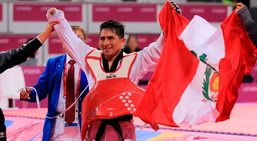 Parapanamericanos Lima 2019: William Fernández gana medalla de bronce en para taekwondo. (Foto: Twitter)
