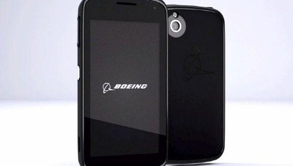Boeing desarrolla un teléfono capaz de autodestruirse