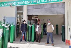 Huancavelica: 42 balones de oxígeno fueron donados a la provincia de Huaytará