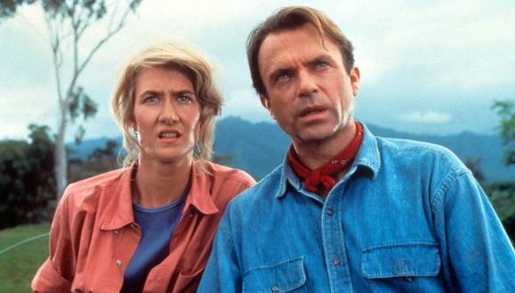 Jurassic Park fue estrenada en 1993 y tuvo como protagonistas a Alan Grant y Ellie Sattler (Foto: Universal Pictures)