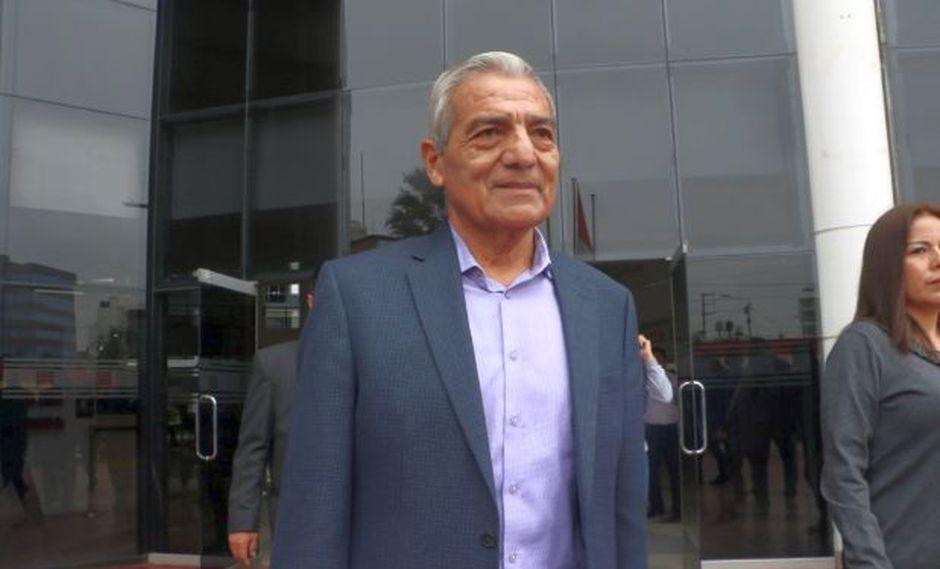 Elidio Espinoza no estuvo presente en la audiencia de ayer, donde se le dictó sentencia (Foto. Johnny Aurazo)