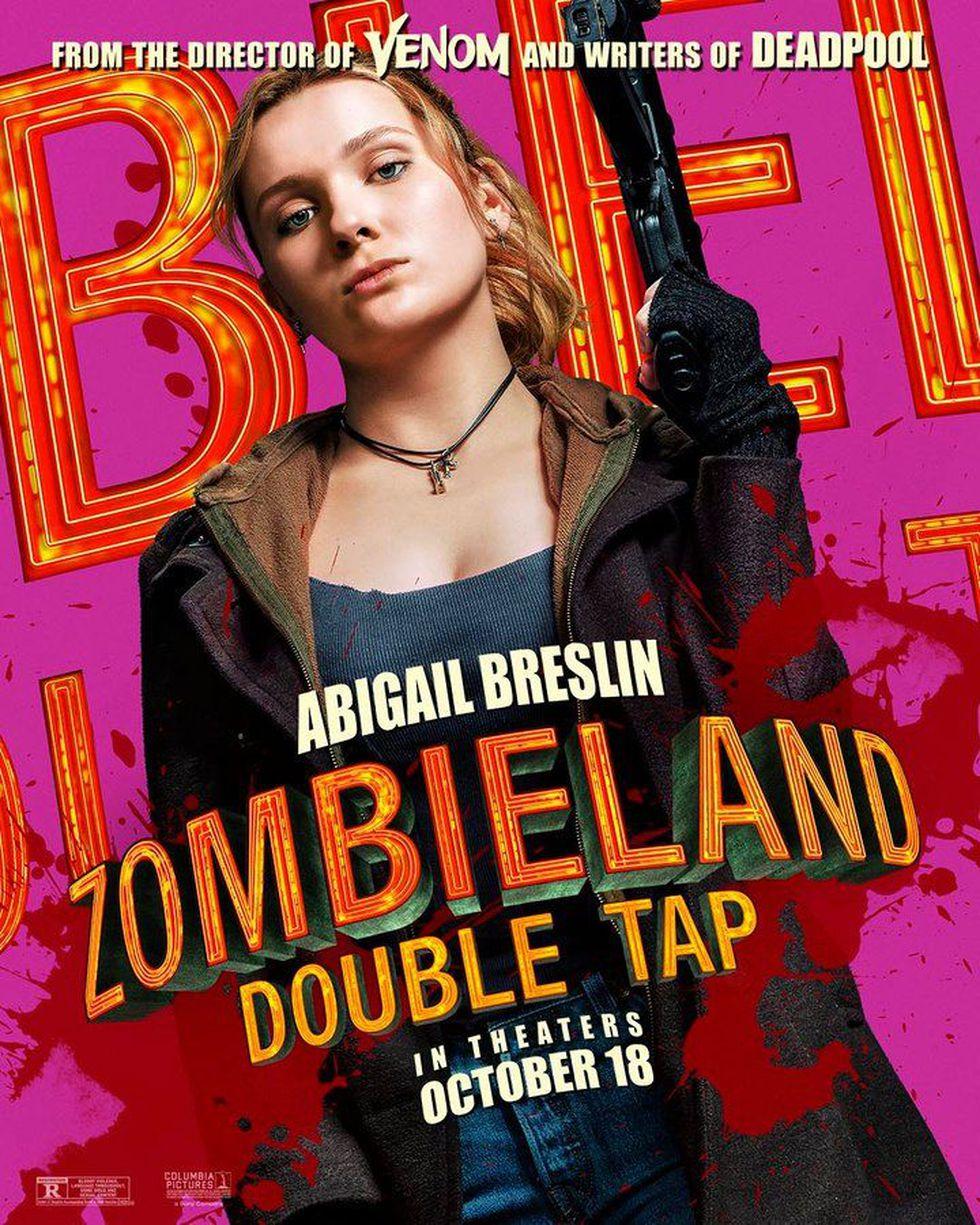 """Abigail Breslin es Little Rock en """"Zombieland 2"""" (Foto: Sony Pictures)"""