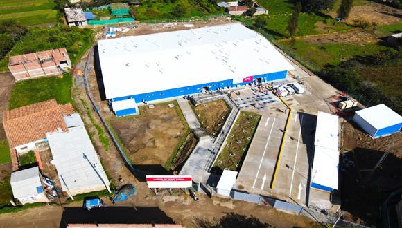 El Hospital de Contingencia de Yungay beneficiará a más de 55 mil personas | Foto: ARCC