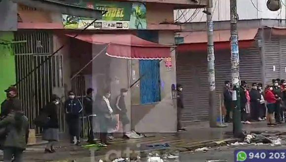 Realizan operación sorpresa en inmediaciones de Gamarra. (Foto: Captura/Latina)