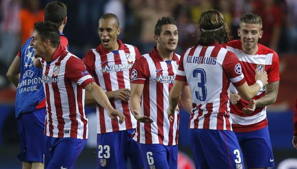 Atlético de Madrid: un plantel de prácticamente 14 jugadores