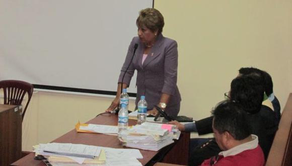 Hoy se define situación legal de la alcaldesa de Chimbote