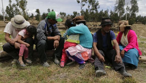 Terroristas tenían bajo constante amenaza a los comuneros de Libertad de Mantaro. Les revisaban los celulares y controlaban sus salidas del pueblo. (Foto: Alonso Chero)