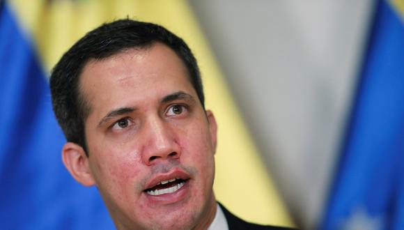 El líder de la oposición Juan Guaidó. REUTERS