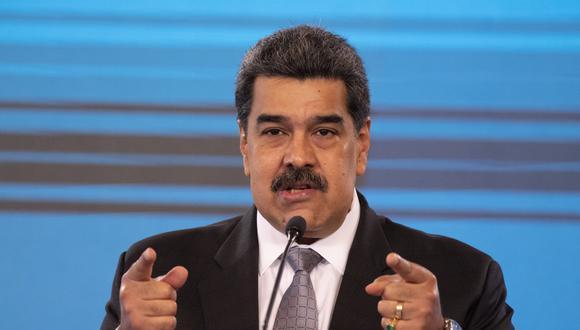 """""""Ese oro le pertenece a los venezolanos y, en específico, al Banco Central de Venezuela, son las reservas del país"""", dijo Nicolás Maduro. (Foto: Yuri CORTEZ / AFP)"""