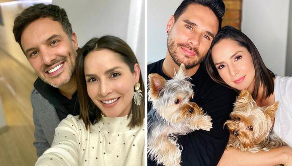 Carmen Villalobos: Sebastián Caicedo presentó al nuevo integrante de la familia. (@cvillaoboss).