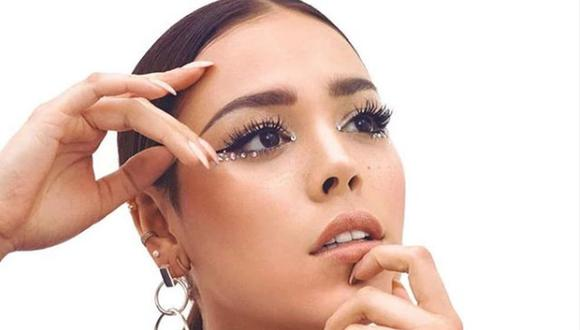Danna Paola se somete a radical cambio de look y luce cabellera rubia (Foto: Instagram)