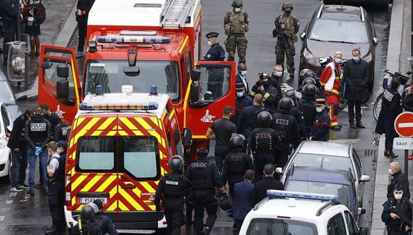 Nuevamente se produce un ataque relacionado a Charlie Hebdo, en París, Francia. El atacante confesó los hechos, se trataría de un joven de 18 años de edad. (Foto: EFE)