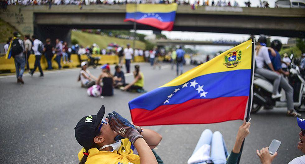"""Venezuela: El """"plantón"""" en protesta contra Nicolás Maduro - 6"""