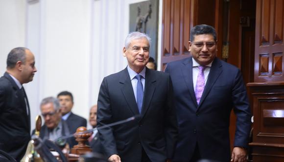 César Villanueva asumió la presidencia del Consejo de Ministros con la llegada de Martín Vizcarra a la presidencia y tras la renuncia de Pedro Pablo Kuczynski (PPK). (Twitter: Congreso)