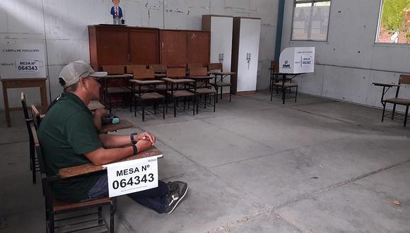 Elecciones 2020: Falta de miembros de mesa retrasa inicio de votación