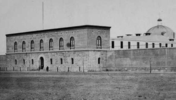 La Penitenciaria de Lima. FOTO: http://historiadordelperu.blogspot.com/