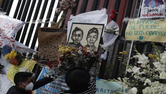 Jack Pintado e Inti Sotelo murieron durante las protestas contra Manuel Merino. (Foto: César Campos/GEC)