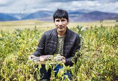Manuel Choqque: cusqueño obtiene reconocimiento mundial por proyectos a base de papa nativa