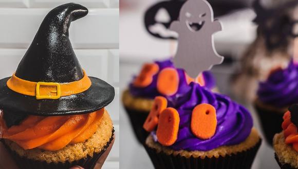 Cupcakes de Halloween. (Fotos: Sugarlab)
