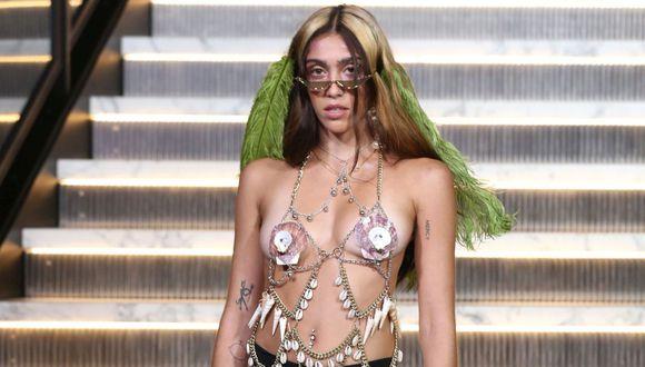 Lourdes León, la hija mayor de Madonna ha decidido hacerse un espacio en el mundo de la moda y ahora todos hablan de ella por sus diversos polémicas (Foto: AFP)
