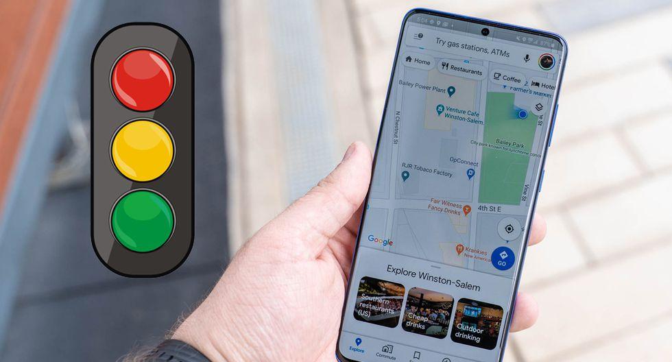 ¿Quieres activar los semáforos en Google Maps? Señal de tránsito llegó para quedarse. (Foto: Google)