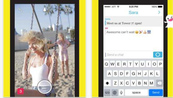 Snapchat: inició la batalla por la mensajería instantánea