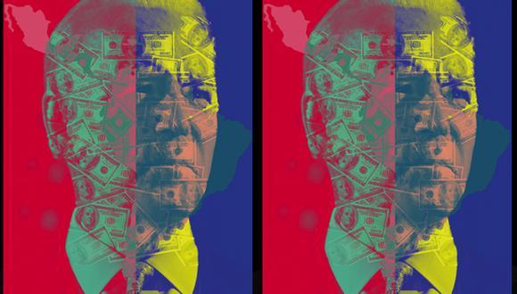 """""""Los críticos dicen que si Biden gana las elecciones estadounidenses, la capacidad del BID de obtener un aumento de capital con fondos de los Estados Unidos estaría en peligro"""". (Ilustración: Giovanni Tazza)."""