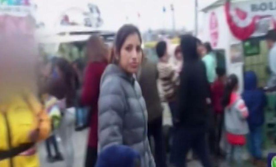 Tatiana Villacriz Juan de Dios está desaparecida desde el pasado miércoles. (Foto: Captura/Latina)